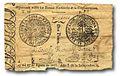 Billete de dos pesos. Venezuela 1811.jpg