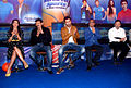 Bipasha Basu, Ranbir Kapoor, Prannoy Roy, Ajay Maken at the NDTV Marks for Sports event 04.jpg