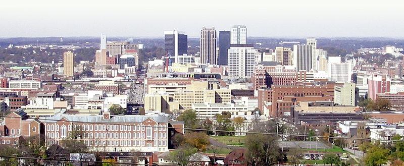 Birmingham, AL downtown