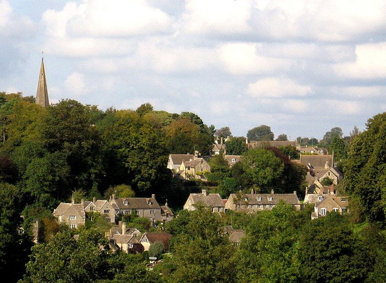 Bisley, Gloucestershire, a village in the Cotswolds