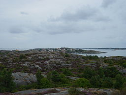 Vy over Kalvsund fra Björkö