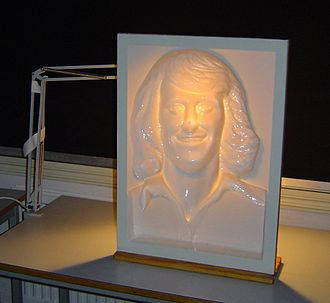 Hollow-Face illusion - This face of Björn Borg appears convex (pushed out), but is actually concave (pushed in).