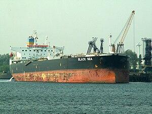 Black Sea IMO 9180217 p1 at the '5e Petroleumhaven', Port of Rotterdam, Holland 07-May-2006.jpg