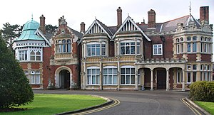 Samuel Lipscomb Seckham - The main house at Bletchley Park. The estate was bought in 1877 and later developed by Seckham.