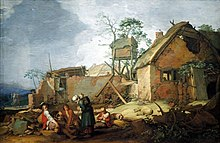Landschaft mit Bauerngehöft, 1629, Hamburger Kunsthalle (Quelle: Wikimedia)