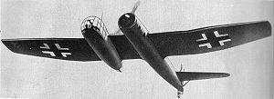 Richard Vogt (aircraft designer) - Image: Blohm und Voss Bv 141