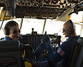 Blue Angels Captain Katie Higgins and Major Mark Hamilton.JPG
