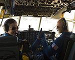 Blue Angels Captain Katie Higgins and Major Mark Hamilton.JPG