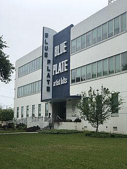 Blue Plate Artists Lofts in Gert Town