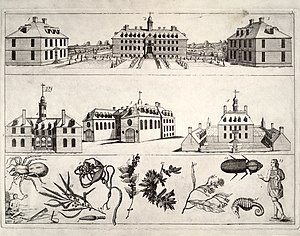 History of Williamsburg, Virginia - Image: Bodleian Plate