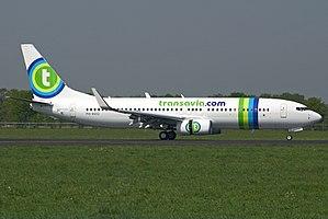 Groningen Airport Eelde - Transavia Boeing 737-800 in 2007
