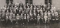 Bohr,Niels Commemoration Meeting 1963 Copenhagen no annotation.jpg