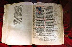 Peter Lombard - Sententiae, 1280 circa, Biblioteca Medicea Laurenziana, Florence