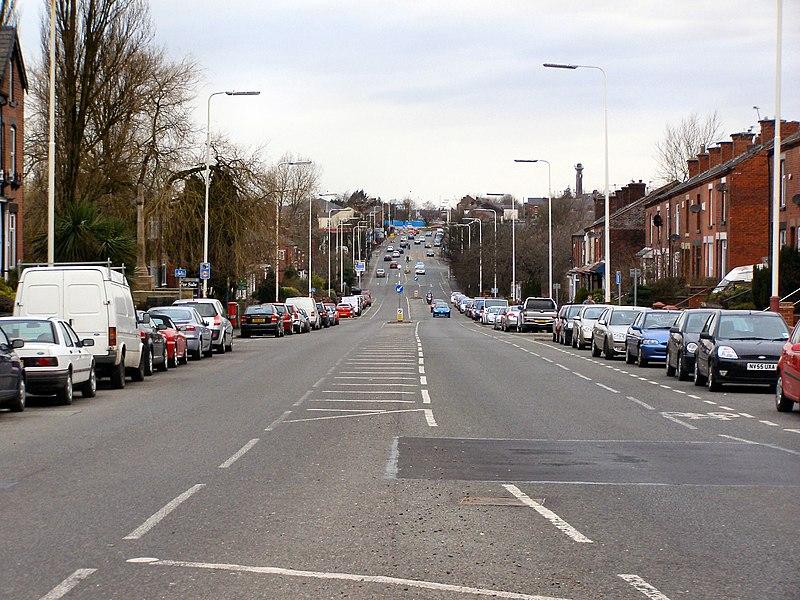 File:Bolton Road, Kearsley - geograph.org.uk - 1765597.jpg