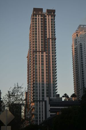 The Bond on Brickell - Image: Bond at Brickell construction Oct 2016 1