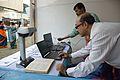Book Scanning - Wikipedia Stall - Greater Behala Book Fair - Calcutta Blind School Grounds - Kolkata 2015-12-12 7911.JPG
