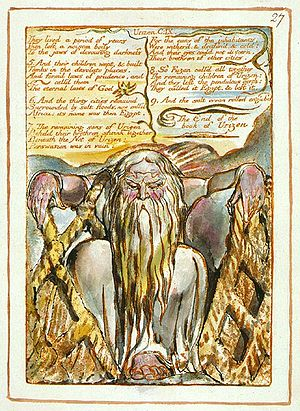 The Book of Urizen - Wikisource, the free online library