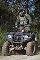 Border Patrol Agent Patrols South Texas Border on an All Terrain Vehicle (ATV) (11934272215).jpg