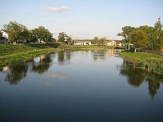 Bosut (river) - Bosut between Rokovci and Andrijaševci