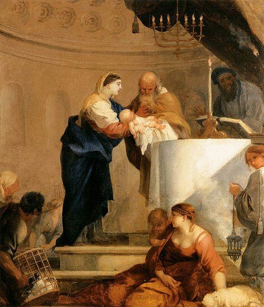 File:Bourdon, Sébastien - Presentation in the Temple - c. 1644.jpg