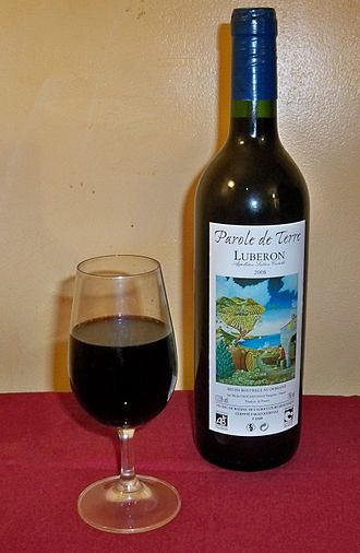 Côtes du Luberon AOC - A red wine from the Côtes du Luberon.