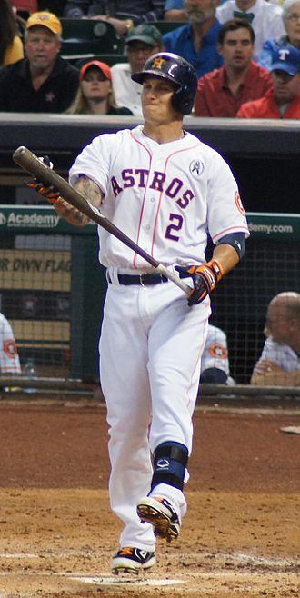 Brandon Barnes (baseball) - Barnes with the Houston Astros