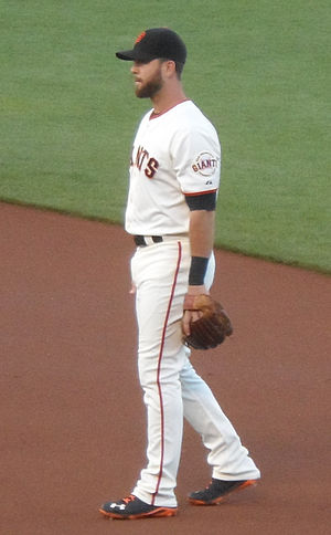 Brandon Hicks - Hicks with the San Francisco Giants in 2014