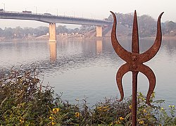 Bridge over Bhagirathi river - Murshidabad.jpg