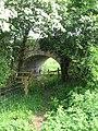 Bridge over disused Canal - geograph.org.uk - 811542.jpg