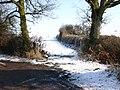 Bridleway off Snitterfield Lane - geograph.org.uk - 1715672.jpg