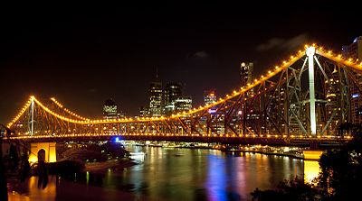 The Story Bridge.
