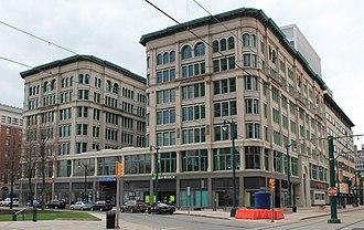 Lafayette Square (Buffalo) - Image: Brisbane Building