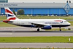 British Airways, G-DBCG, Airbus A319-131 (28476259805).jpg