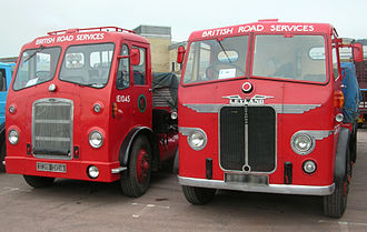 National Freight Corporation - BRS liveried trucks