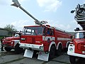Brno, Řečkovice, hasičská technika.JPG