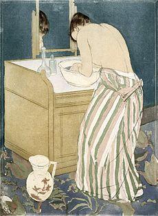 Donna al bagno - Wikipedia