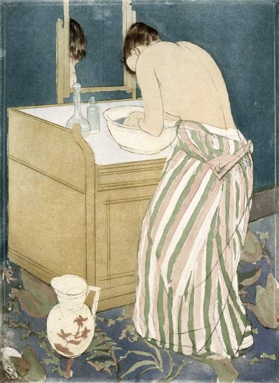 Brooklyn Museum - La Toilette - Mary Cassatt