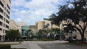 Broward Health - Broward Health Medical Center in Fort Lauderdale, Florida.