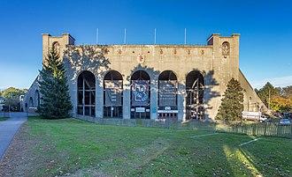 Brown Stadium - Entrance to Brown Stadium on Elmgrove Avenue