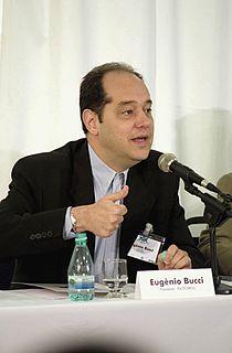 Eugênio Bucci journalist