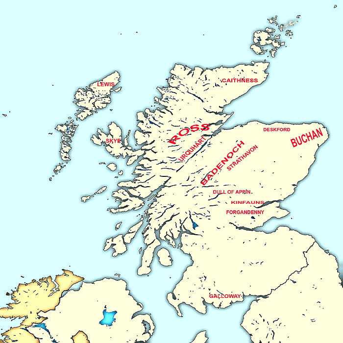 an analysis of the lands of the comyns in buchan and badenoch Hugh, earl of ross dijjj m margaret niece of john comyn, earl of buchan dsp ( :)margaret graham mt''eiizabeth mure of rowallan l cll 50 h sis:~~~~~~~~~r ~~:rtl 1 ~1euphemia ross margaret = (~ 1john, lord of rhe isles cij4l h king robert ill ~ dt406 i alexander, earl of buchan i robert i 'wolf of badenoch.