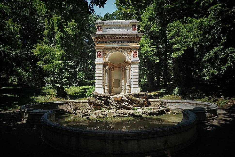 Bucharest - Carol Park - F%C3%B4nt%C3%AAna George Gr- Cantacuzino. (28629338335)