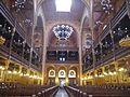 Budapest Große Synagoge Innen 08.JPG