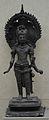 Buddha - Bronze - Circa 7th-12th Century AD - Jhewari - Chittagong - Bronze Gallery - Indian Museum - Kolkata 2012-12-21 2409.JPG