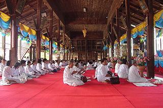 Bhikkhunī Ordained female Buddhist monastic