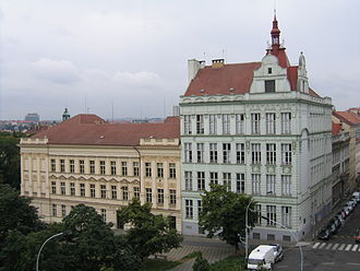 University of Finance and Administration - Image: Budova VŠFS Estonská