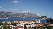 Budva, view from Gospostina
