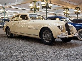 Bugatti EB 218 - The Bugatti Type 101 Guillore 4-door saloon