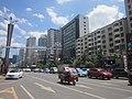 Buildings alongside the Shengjing Avenue, Panzhou, Guizhou, China6.jpg