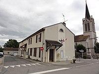 Buissoncourt (M-et-M) mairie et église.jpg